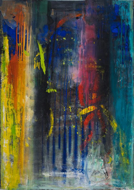Crepuscul, 110cmx150cm, autor Iurie Cojocaru