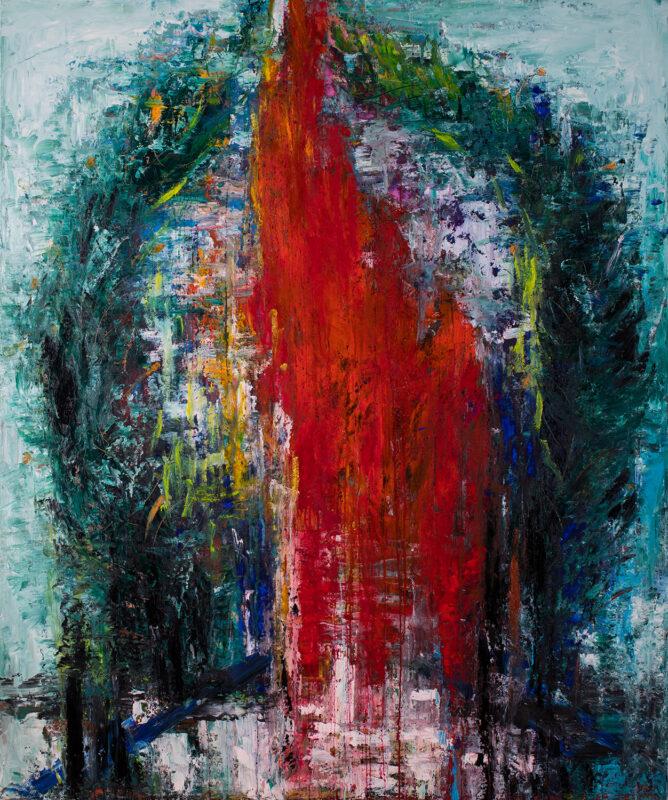 Cununa-invingatorului, 120cmx150cm, autor Iurie Cojocaru