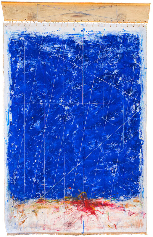 Dor de albastru, 113cmx180cm, autor Iurie Cojocaru